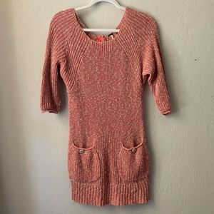 Free People Tunic Sweater with Pockets